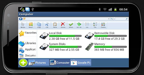 Computer File Manager Android