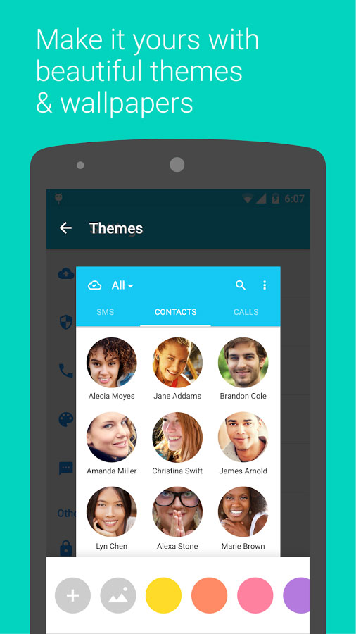 Contacts + Android - برنامه کانتکت پلاس اندروید