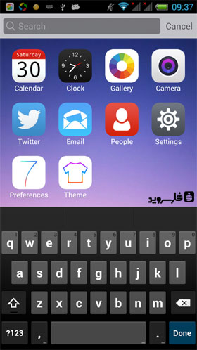 Cool Launcher Pro Android - برنامه اندروید