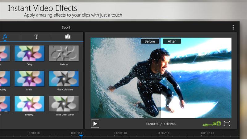 دانلود CyberLink PowerDirector Full 5.4.0 - قدرتمندترین ویرایشگر ویدئو اندروید !