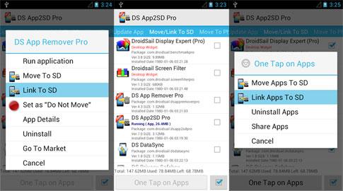 دانلود DS Super App2SD Pro - انتقال اپلیکیشن ها به مموری اندروید