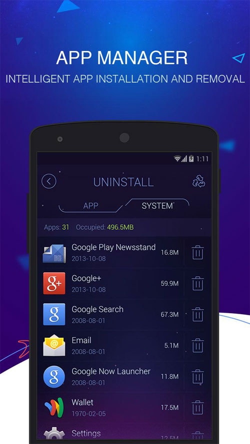 DU Speed Booster (Cleaner) Android برنامه اندروید
