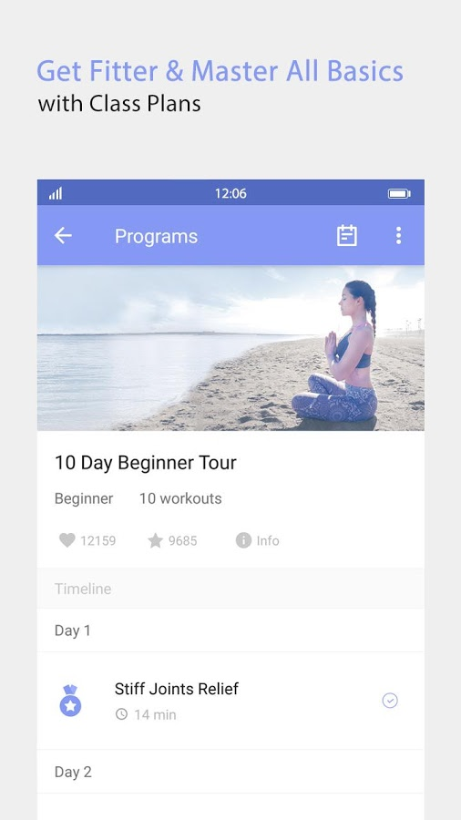 Daily Yoga - Fitness On-the-Go Android