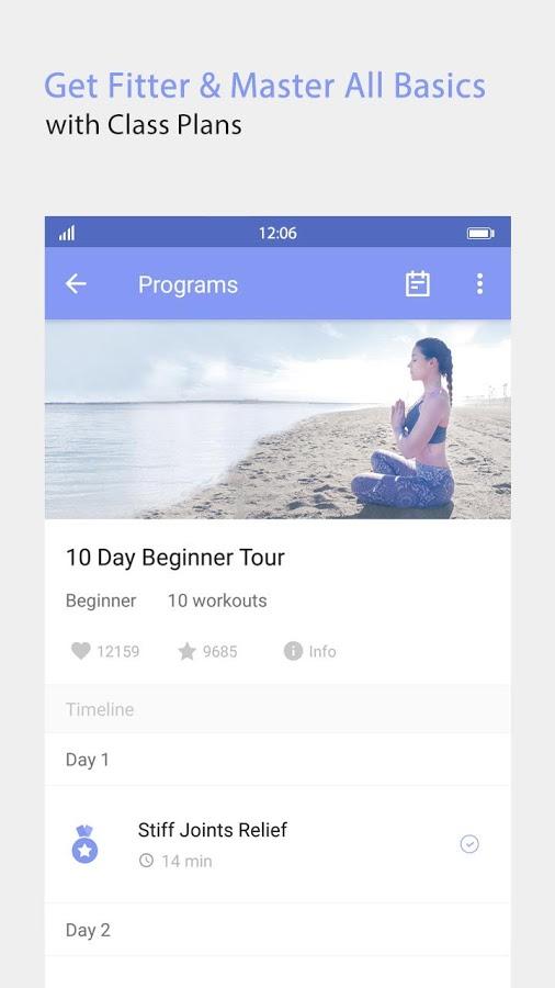 دانلود Daily Yoga – Yoga Fitness Plans Full 7.14.10 – برنامه مربی یوگا اندروید !