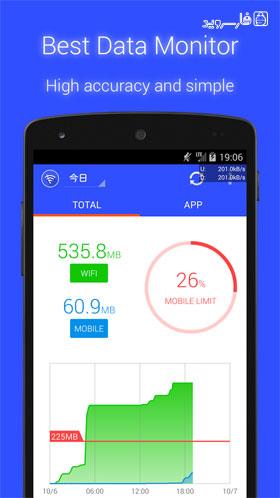 دانلود Data Monitor 1.10.1165 – برنامه مدیریت مصرف اینترنت اندروید