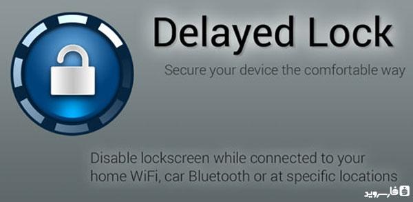 دانلود Delayed Lock Unlocked - قفل صفحه هوشمند اندروید
