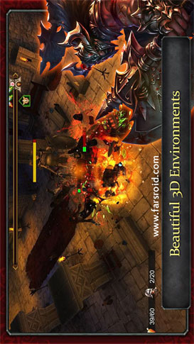 Demonrock: War of Ages - بازی اندروید