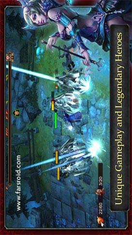 Demonrock: War of Ages - بازی اندروید