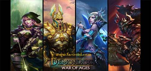 دانلود Demonrock: War of Ages - بازی استراتژیک جدید جنگ قرن ها اندروید + دیتا + تریلر