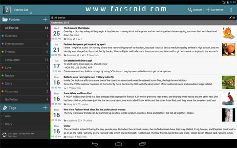 Download Diaro - diary, journal, notes Android Apk - New Google Play