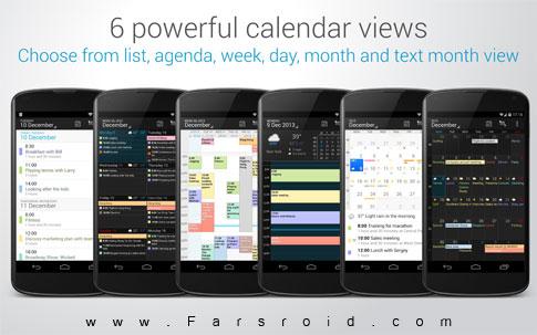 دانلود DigiCal Calendar & Widgets 1.6.0B – تقویم کامل و قدرتمند اندروید