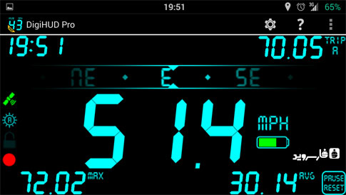 DigiHUD Pro Speedometer Android