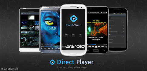 Direct Player - ویدئو پلیر جدید اندروید