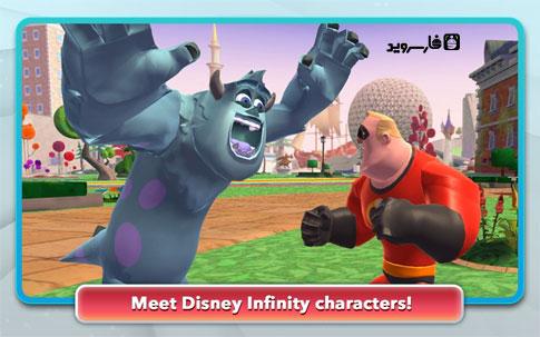 دانلود Disney Infinity: Action! 1.0.6 – ساخت انیمیشن دیزنی اندروید!