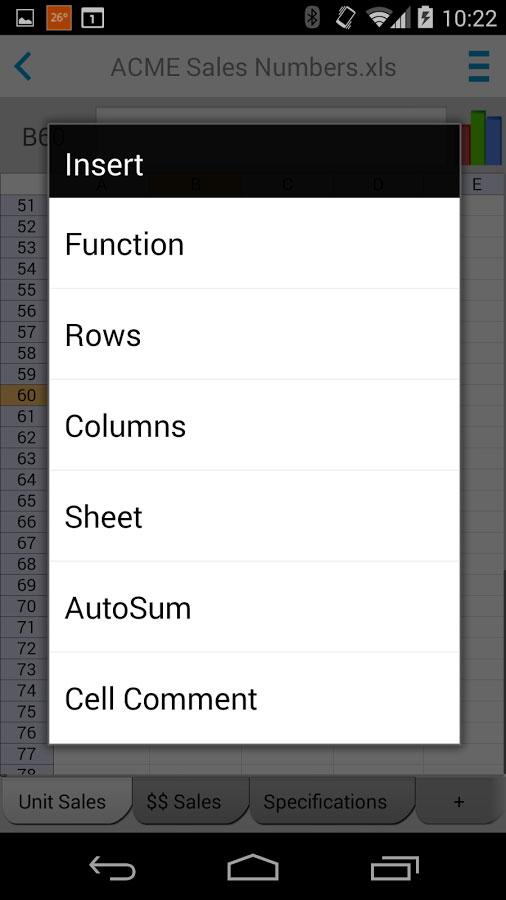 Docs To Go - Free Office Suite Android - آندروید رایگان