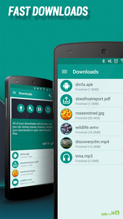 Download Manager for Android 4 Download Manager for Android 4.93.12011 – مدیریت دانلود پرامکانات آندروید !