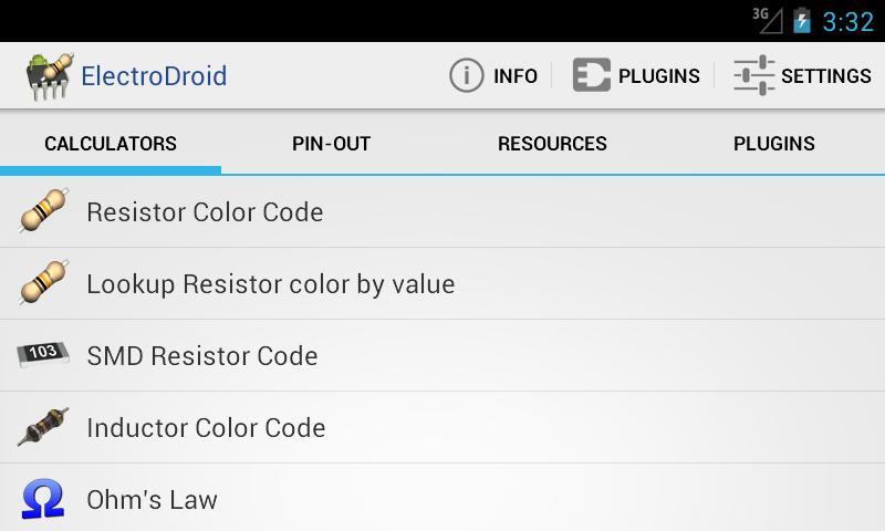 ElectroDroid Pro Android - برنامه جدید و رایگان اندروید