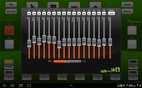 دانلود Electrum Drum Machine/Sampler 4.8.8 – برنامه ساخت موزیک اندروید