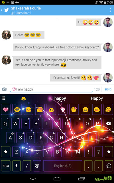 Emoji Keyboard -Cute Emoticons