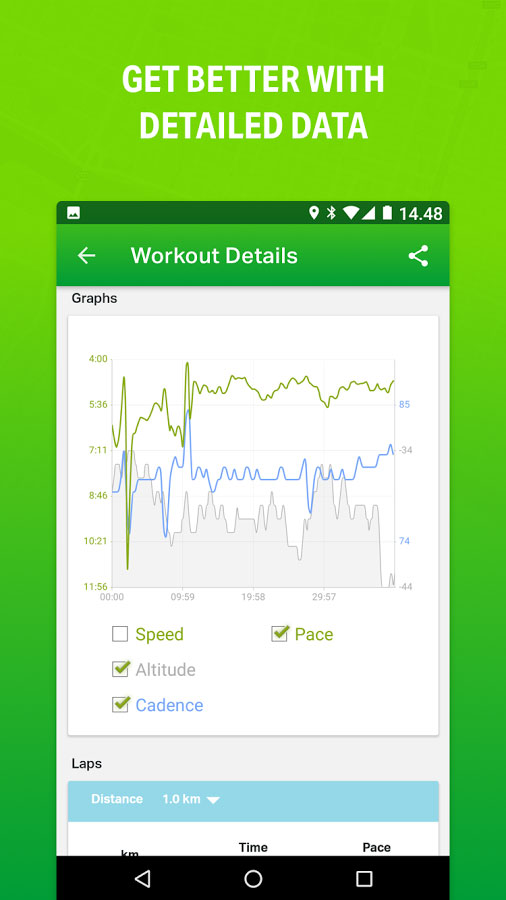 Endomondo Sports Tracker PRO Android - برنامه اندروید