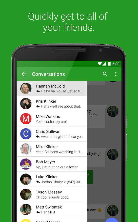 EvolveSMS Android - برنامه اس ام اس اندروید