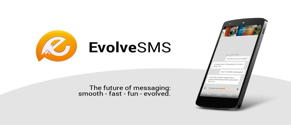 دانلود EvolveSMS - نرم افزار مدیریت اس ام اس و پیام رسانی اندروید
