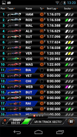 F1™ 2013 Timing App Android