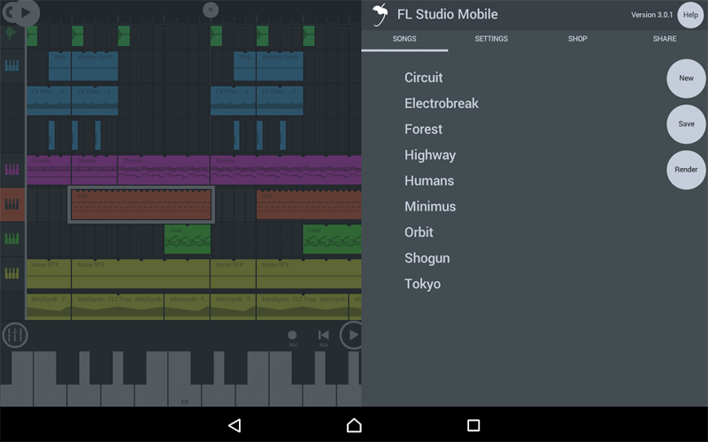 FL Studio Mobile 1 دانلود FL Studio Mobile 2.0.8 – استودیوی ساخت موزیک آندروید + دیتا