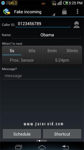 Fake Call & SMS & Call Logs PRO برنامه رایگان اندروید