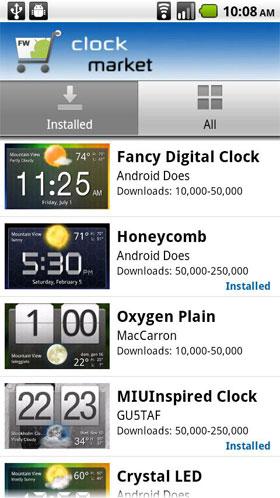 Fancy Widgets Android - نرم افزار اندروید