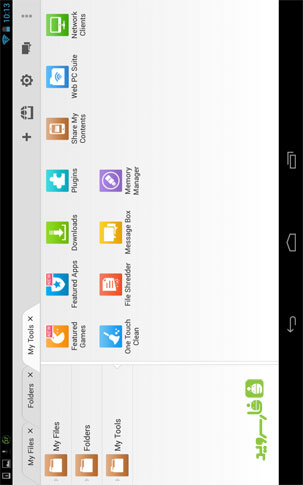 File Expert HD with Clouds Android - برنامه اندروید