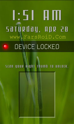 Fingerprint Lock Android