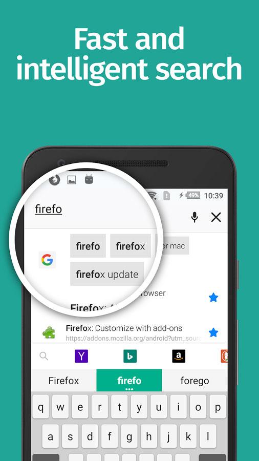 Firefox Browser Screenshot