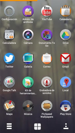 Firefox Os Next Launcher Theme Android
