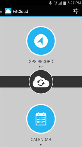 FitCloud Running & Cycling Android