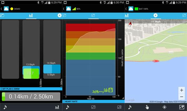 دانلود FitCloud Running & Cycling - پیگیری آموزش و تمرینات اندروید