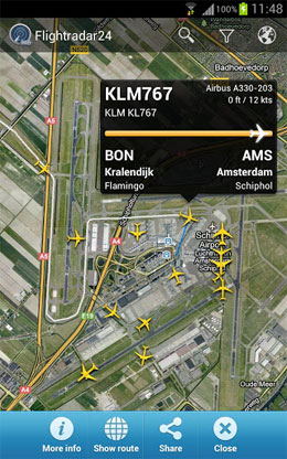 Flightradar24 Pro Screenshot