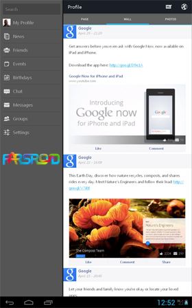 Flipster Pro for Facebook Android فیسبوک اندروید