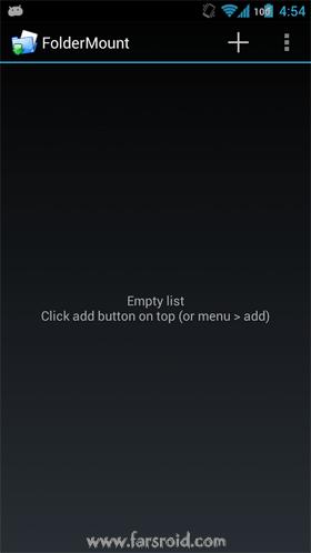FolderMount Premium [ROOT] Android برنامه اندروید