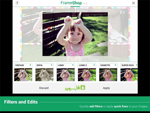 FrameShop - Photo Frame Editor Android - برنامه اندروید