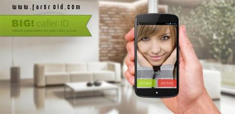 دانلود Full Screen Caller ID - BIG! PRO - برنامه کاربردی اندروید