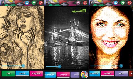 دانلود Funky Photo - Realtime Effects - افکت گذاری عکس اندروید!