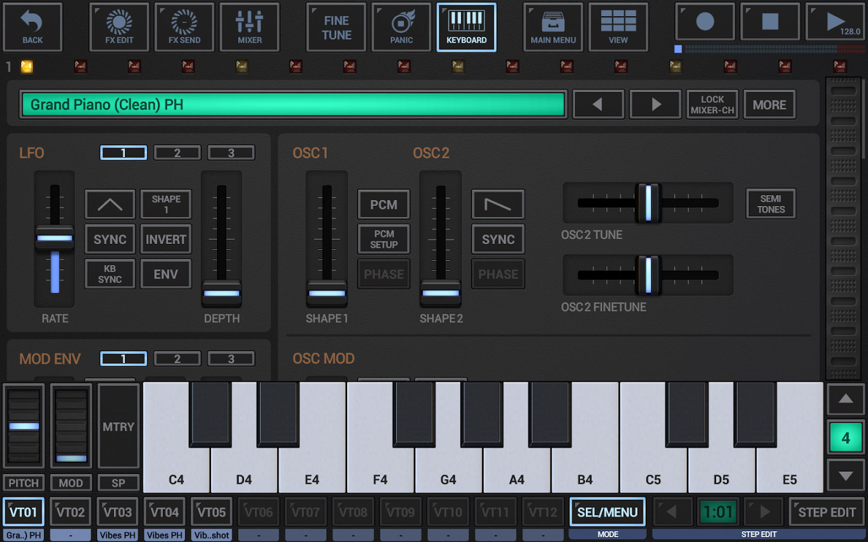 G-Stomper Studio - برنامه اندروید