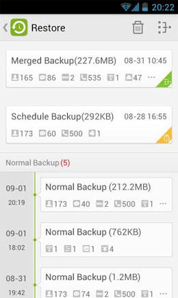 دانلود GO Backup & Restore Pro 3.51 – برنامه پشتیبان گیری اندروید