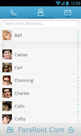 GO Contacts Pro Screenshot