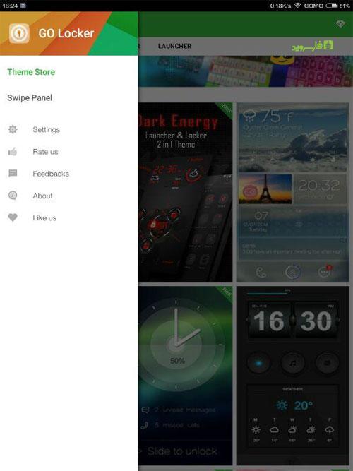 دانلود GO Locker VIP 6.06 – لاک اسکرین فوق العاده گو اندروید !