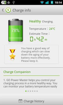GO Power Master Screenshot
