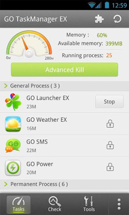 GO Task Manager EX Android