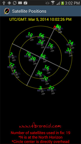 GPS Waypoints Navigator Android - برنامه اندروید