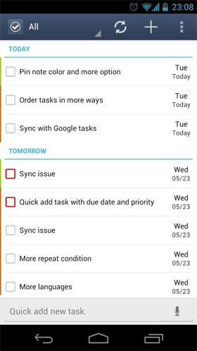 GTasks: To-Do List & Task List Android - نرم افزار اندروید